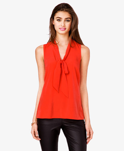 FOREVER 21 Essential Tie-Front Top