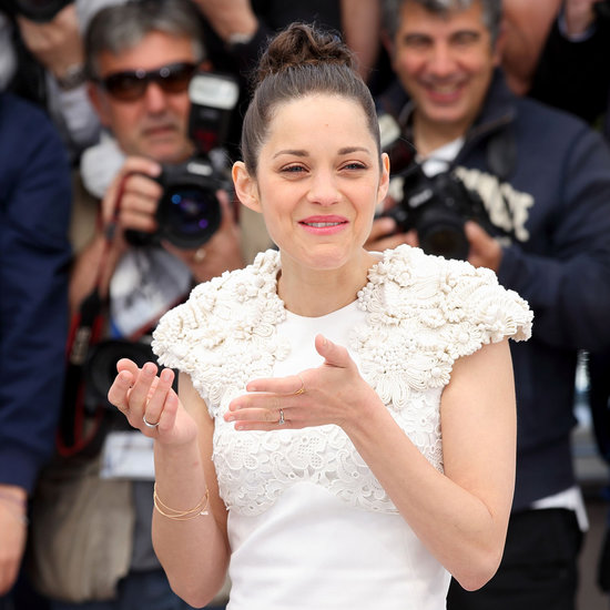 Marion Cotillard Crying at Cannes Film Festival | Photos