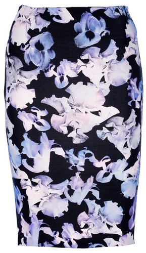 Mcq By Alexander Mcqueen floral pencil skirt