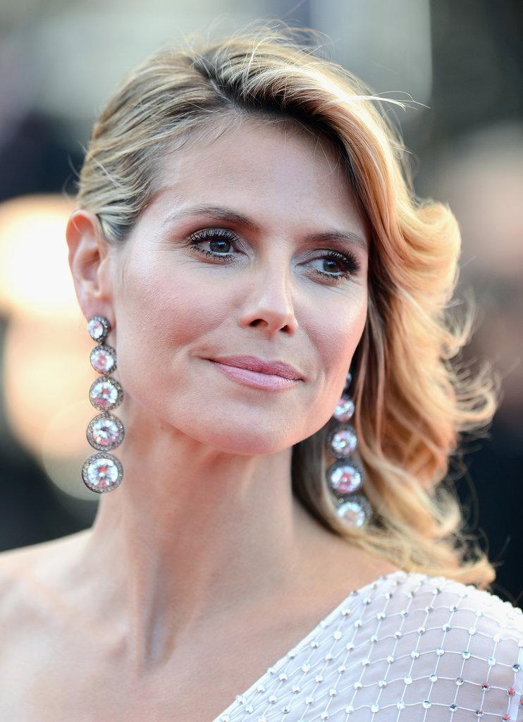 Heidi Klum wore a pair of stunning Lorraine Schwartz earrings.