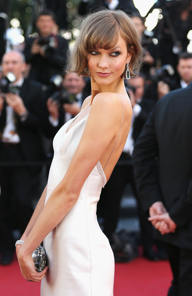 Karlie Kloss looked flawless on Friday, arriving at the premiere for The Immigrant in Cannes.