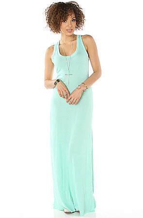 Alternative Apparel The Eco Racer Maxi Dress