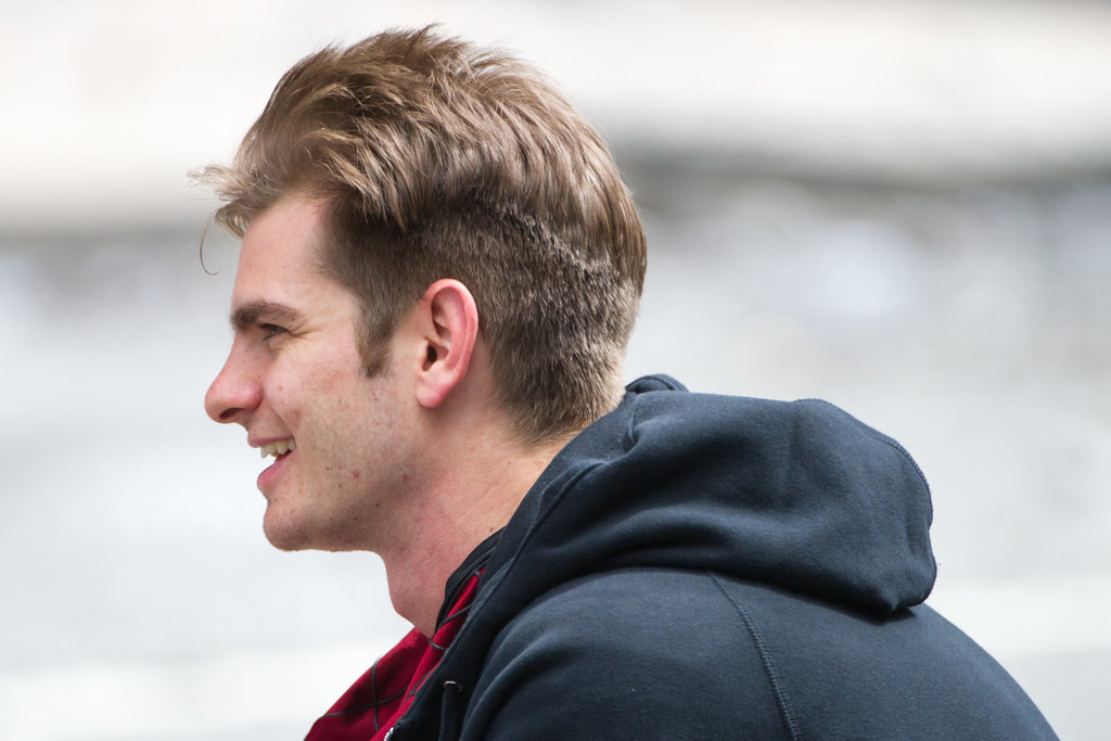 Andrew Garfield Haircut Social Network