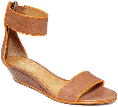 Nine West Shoes, Vilta Demi Wedge Sandals