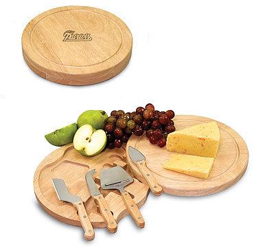 Picnic Time Circo Cheese Board & Tool Set - New England Patriots