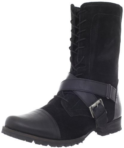Naughty Monkey Women's Stomper Motorcycle Boot