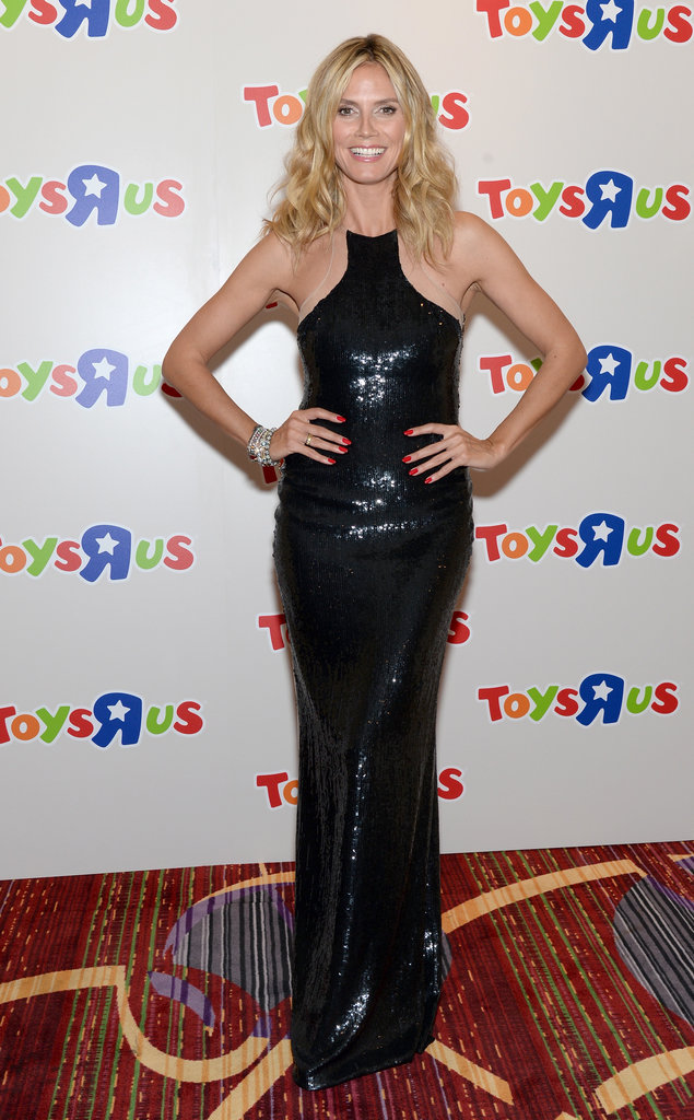 "Heidi Klum in a KaufmanFranco at the 2012 Toys ""R"" Us Gala"