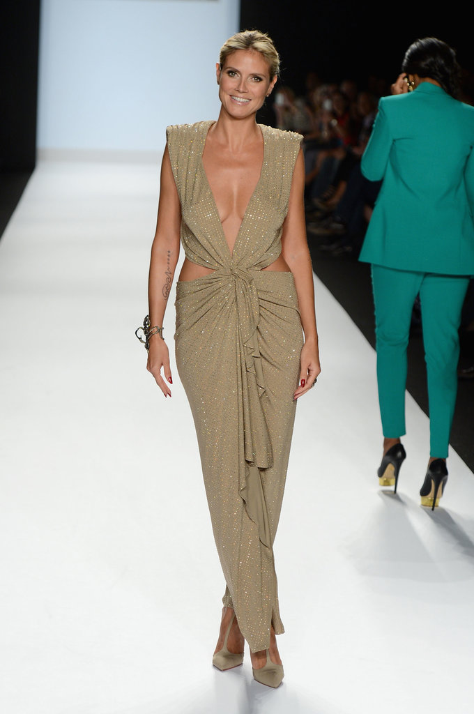 Heidi Klum in a Cutout Alexandre Vauthier at a 2013 Project Runway Event