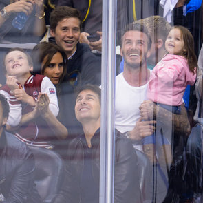 Victoria Beckham and Tom Cruise at LA Kings Game | Photos