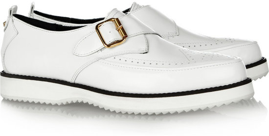 McQ Alexander McQueen Patent-leather creepers