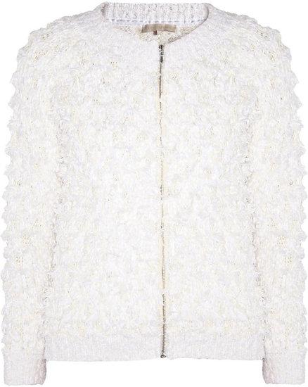 Vanessa Bruno Fringed woven cotton jacket