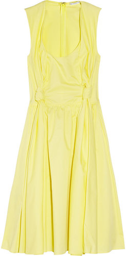 Carven Cotton-poplin dress