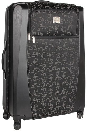 Diane Von Furstenberg - Signature Hybrid - 28 Spinner Suitcase (Black) - Bags and Luggage