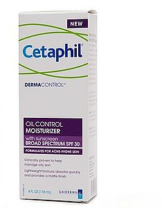 Cetaphil DermaControl Oil Control Moisturizer with Sunscreen Broad Spectrum SPF 30