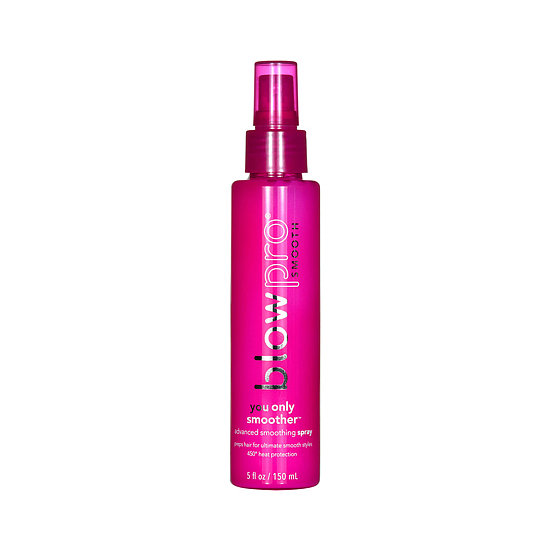 BlowPro's You Only Smoother Smoothing Spray ($22) fights frizz and helps hair dry faster. Who could want more?  — MLG