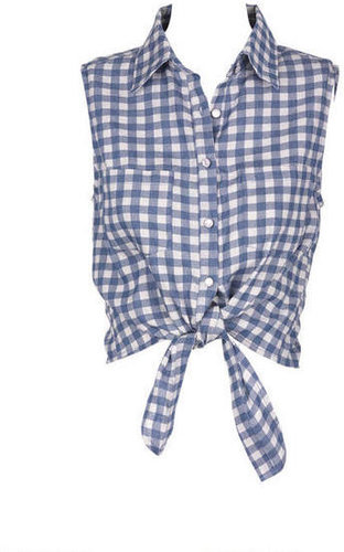 Chambray Gingham Shirt