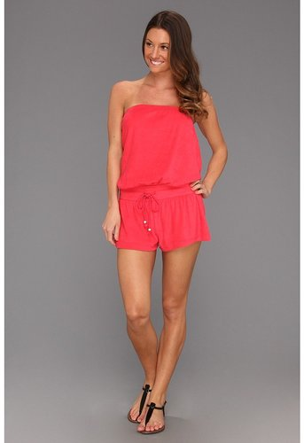 Jessica Simpson - Bohemian Rap Beach Cover-Up (Manic (Red)) - Apparel