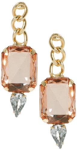 ASOS Chain Teardrop Earrings