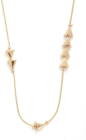 This Mod Cloth Thrice as Nice necklace ($13) is perfect for layering up with your other jewels.