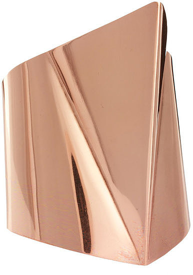 Imagine how gorgeous this ASOS 3D triangle cuff bracelet ($26) will look with a white maxi dress.