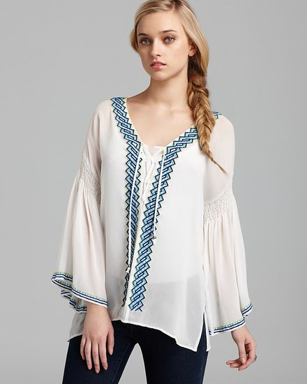 Quotation: Plenty by Tracy Reese Blouse - Peasant Silk