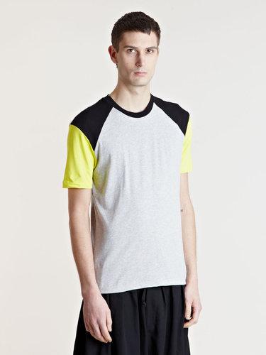 ゴーシャ・ラブチンスキー -  SS13 コレクション - コントラスト・カラー・Tシャツ