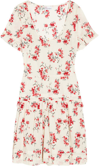 RED Valentino Printed cotton dress