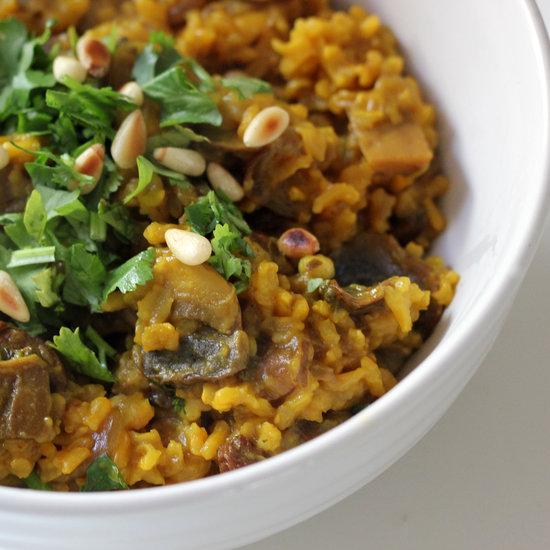 Vegetarian Mushroom Pilaf Recipe