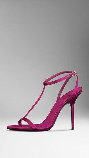 Satin Strappy Sandals