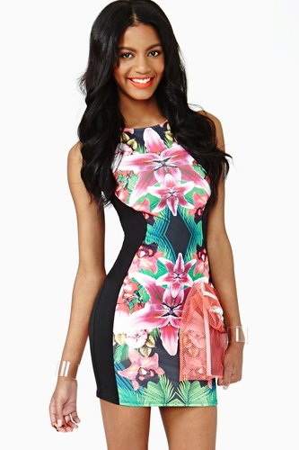 Tropic Bloom Dress