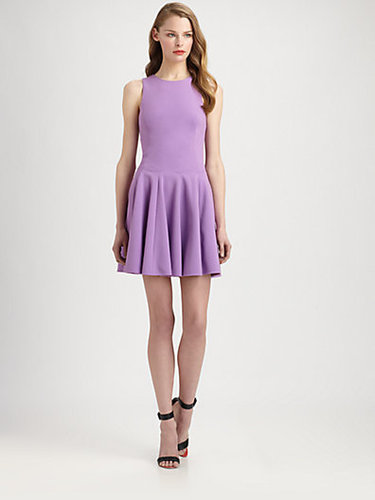 Tibi Fit-And-Flare Ponte Dress