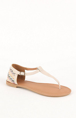 Qupid Athena Printed Sandals