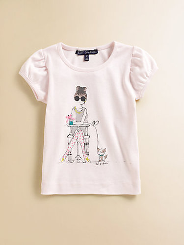 Lili Gaufrette Toddler's & Little Girl's Girl & Dog Tee