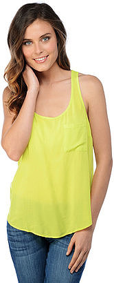 Splendid is my go-to brand for basics, and this woven pocket tank ($68) is no exception. With a rounded collar and relaxed fit, not to mention seven color options(!), this tank is going to be worn again and again. The beauty of basics is that you can dress them up or down. I'm envisioning this lime green tank with a statement necklace, skinny jeans, and cute Summer wedges. — Jen Michalski