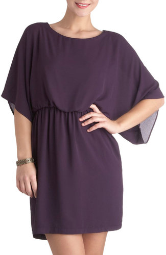 Seen in Aubergine Dress