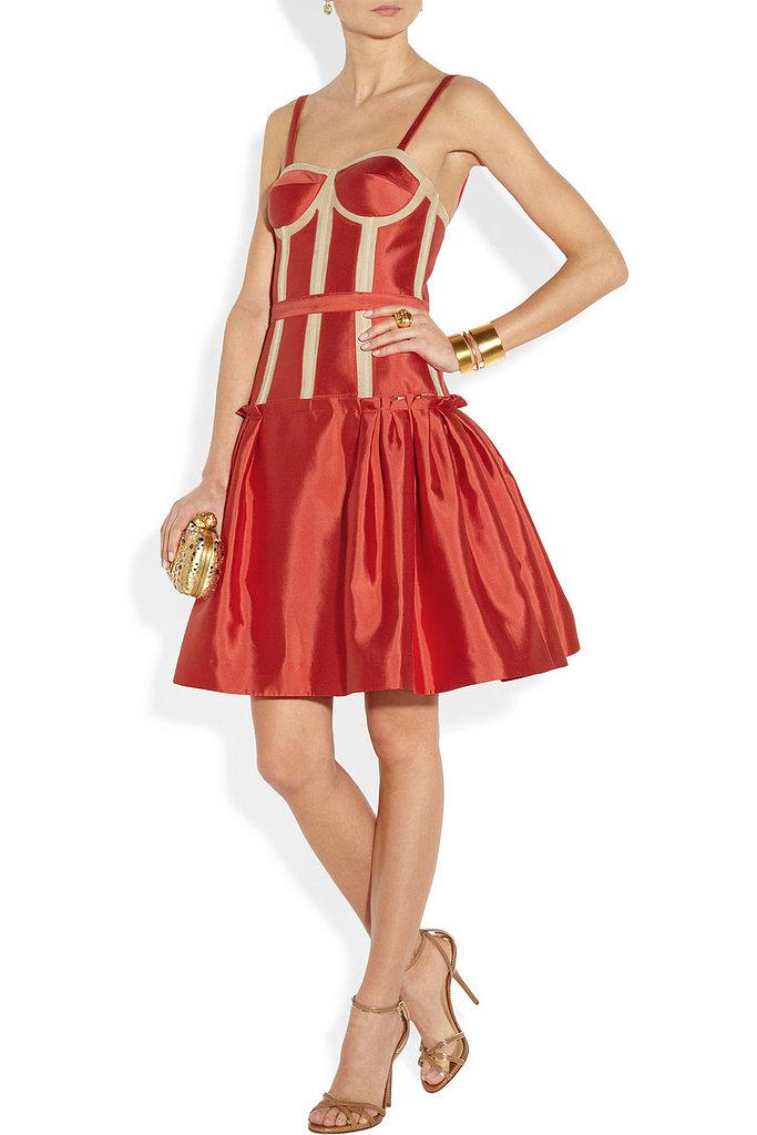 The feminine feel of this satin Prabal Gurung dress ($1,650, originally $3,300) reminds us why we love fashion.