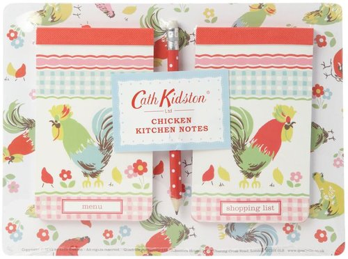 Cath Kidston Kitchen memo notes