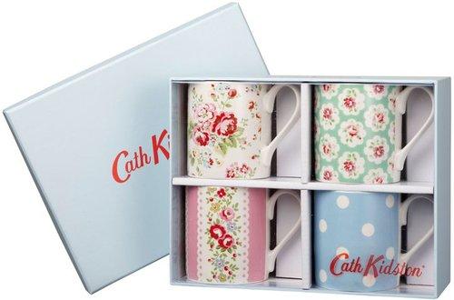 Cath Kidston Ditsy set of 4 mugs