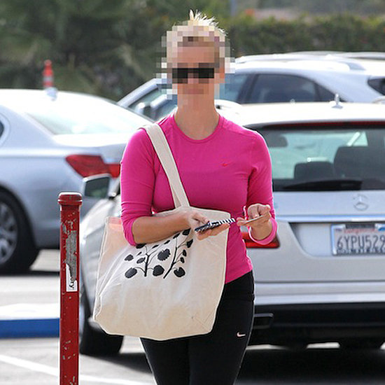 Can You Guess Which Star Rocked Pink to the Gym?