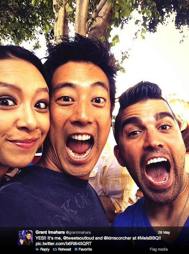 Grant Imahara of MythBusters celebrates Memorial Day with Kim Horcher of Nerd Alert on The Young Turks Network and Bobak Ferdowsi of the Curiosity rover team.