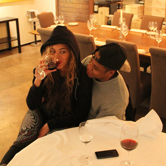 tumblr photos of beyonc drinking wine with jay z in. Black Bedroom Furniture Sets. Home Design Ideas
