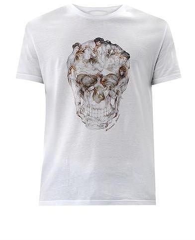 Alexander McQueen Lady skull-print T-shirt