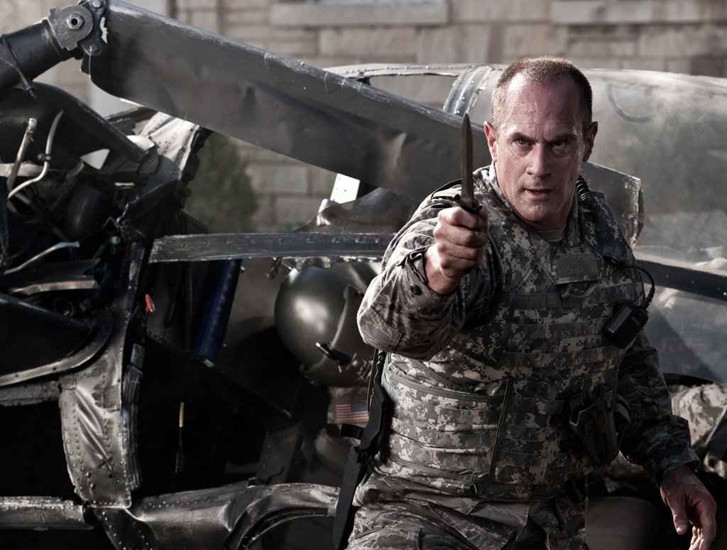 Christopher Meloni in Man of Steel.