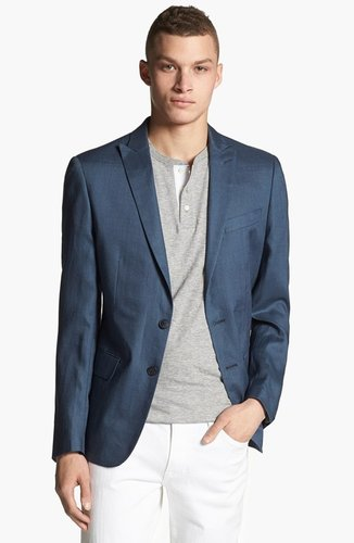 John Varvatos Star USA Red Label Linen Blazer