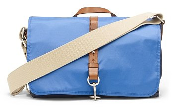 Slim Nylon Messenger