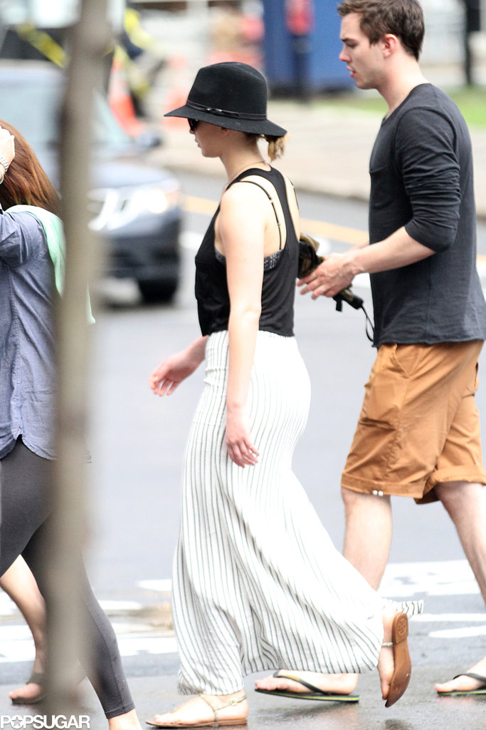 Jennifer Lawrence and Nicholas Hoult hung out together in Montreal.