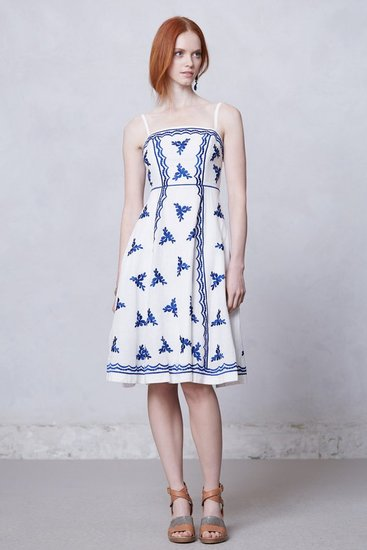 Lidia Embroidered Dress