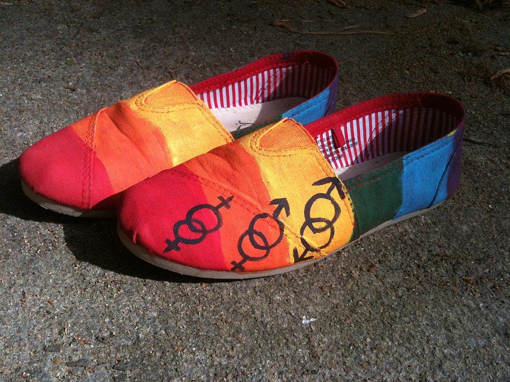 LGBT Pride Shoes