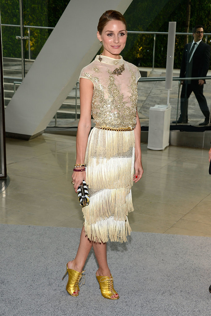 Another look at Olivia's fab fringed look.