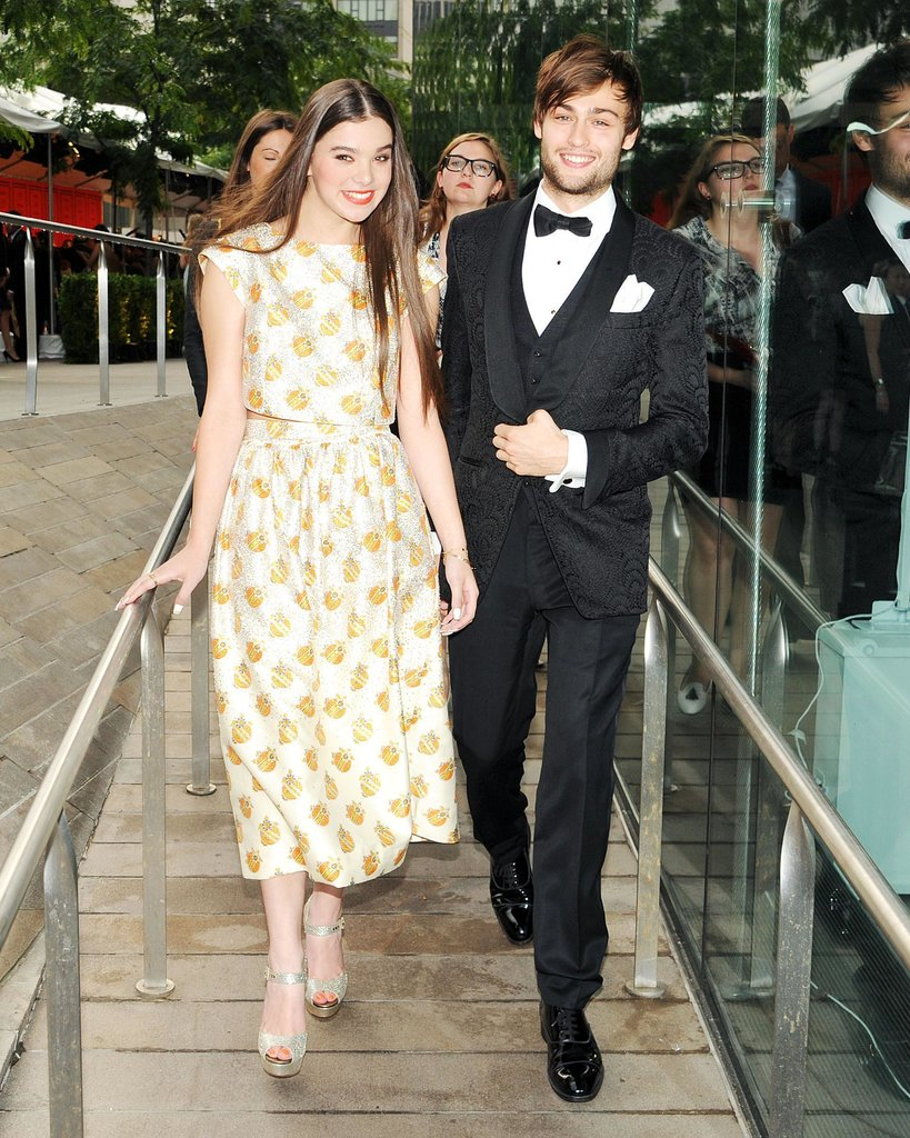 Hailee Steinfeld attended the bash with Douglas Booth ...